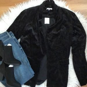 NWT RO&DE Crushed Velvet Jacket. Sz L